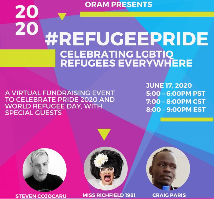 #RefugeePride Virtual Event for LGBTIQ Refugees