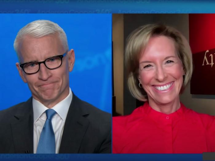Out CNN anchor Anderson Cooper and 'Anderson Coooper 360' correspondent Randi Kaye