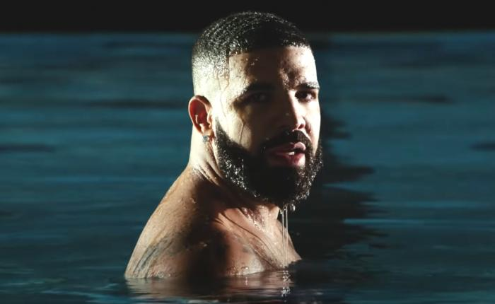 "Drake in the music video for ""Laugh Now Cry Later."""