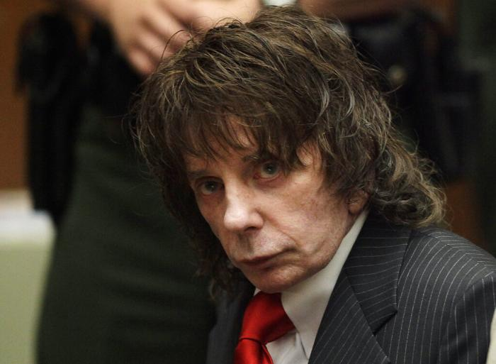 In this May 29, 2009 file photo, music producer Phil Spector sits in a courtroom for his sentencing in Los Angeles.