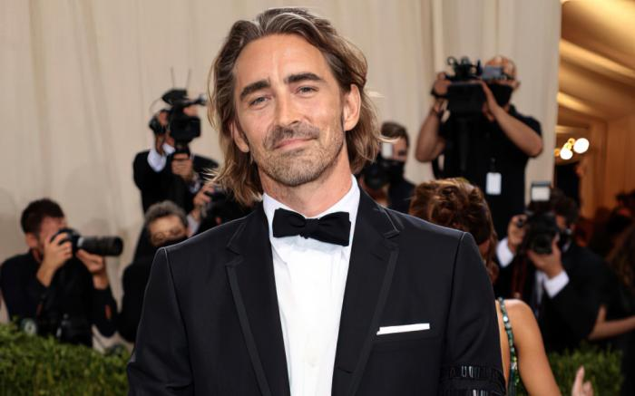 Lee Pace at the Met Gala, Monday, September 13, 2021
